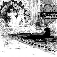 Мужчина мастурбирует киску загорелой даме делающей домашний минет на отдыхе